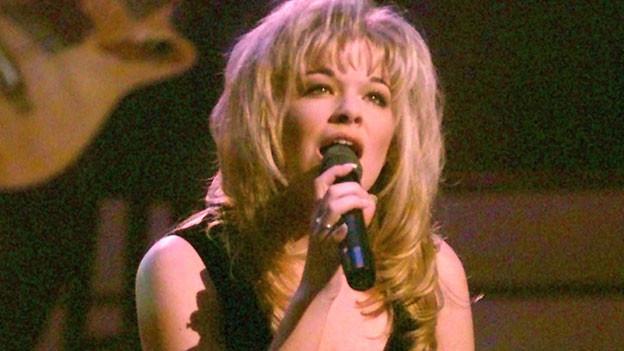 LeAnn Rimes schon als Teenager erfolgreich. Hier bei einem Auftritt in Nashville, 1997.