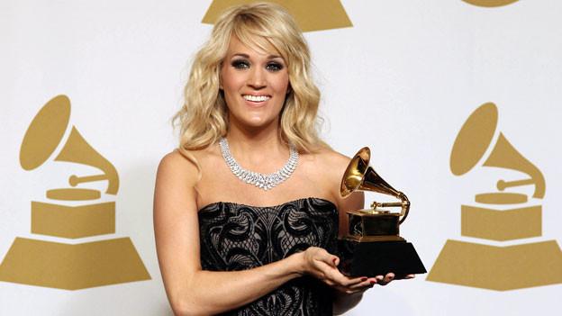 Carrie Underwood gewinnt einen Grammy für «Blown Away».