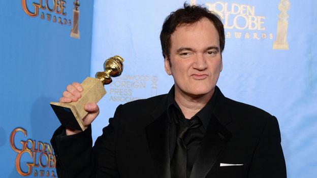 Quentin Tarantino bei den USA Golden Globe Awards 2013.