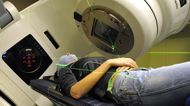 Dei Strahlenbehandlung ist eine der modernsten Behandlungsmethoden gegen Krebs.