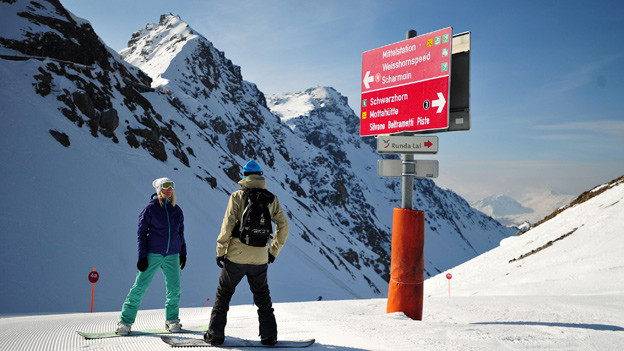 «Einen perfekten Tag im Schnee»: Um diese Erwartung der Wintersportler zu erfüllen, arbeiten bei den Bergbahnen viele Helfer im Hintergrund.