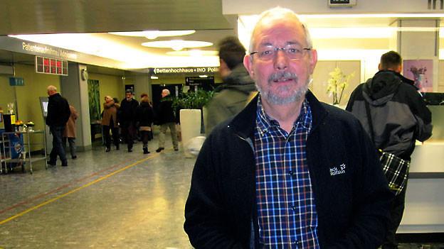 Ugo Caldelari im Inselspital Bern.