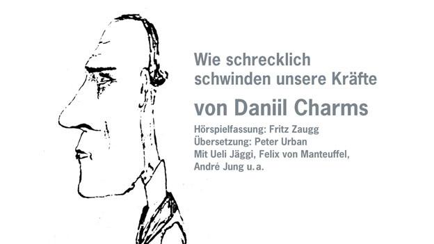 Selbstportrait Daniil Charms (Hörbuch-Cover)