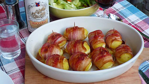 Kartoffeln mit Pepp: Speckkartoffeln, zubereitet von Rita Mäder aus Luzern.