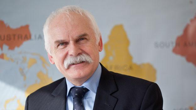 Direktor der Caritas Schweiz Hugo Fasel.