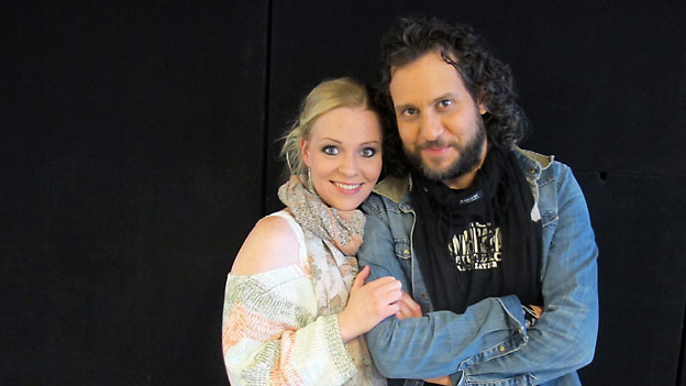 Brigitte «Kisha» Kobel und Reto Burrell.