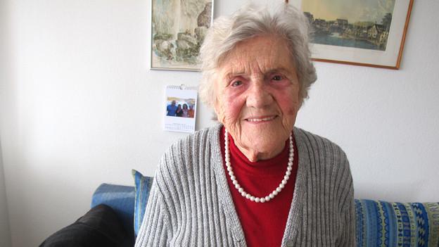 «Es ist für mich eine Freude, helfen zu können»: Margrit Schmied - mit 90 Jahren noch immer jedes Jahr in Indien unterwegs.