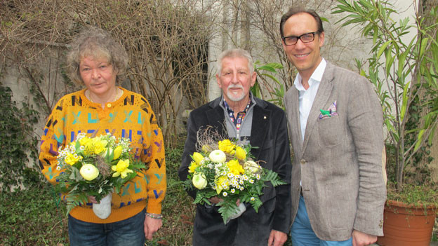 v.l.n.r. Bianca Koechlin, Hansruedi Thommen und Christian Zeugin..