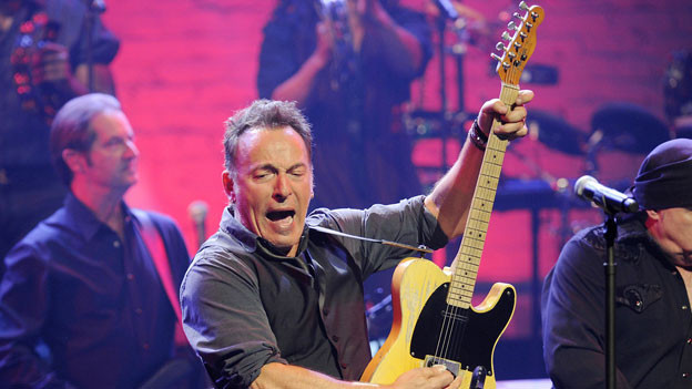 Bruce Springsteen 2012 bei einem Konzert in New York.