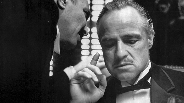 Szene aus «The Godfather» mit Marlon Brando als Mafiaboss