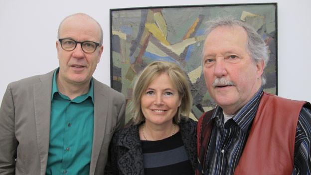 v.l.n.r. Daniel Hitzig, Ka Marti und Andres Brändli