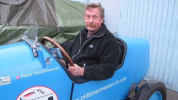 Peter Hürlimann sammelt Oldtimer.