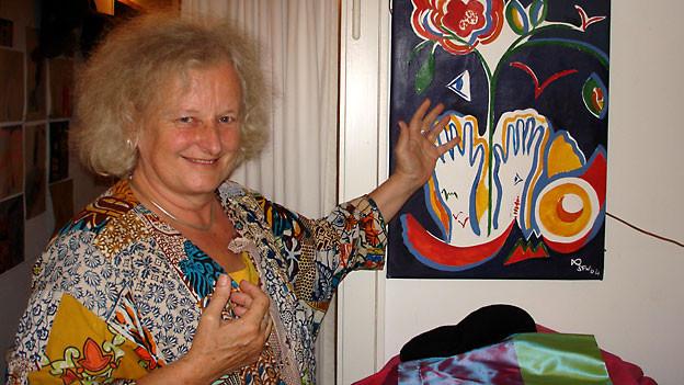 Sylvia Frey Werlen ist Schlummermutter mit Leib und Seele.