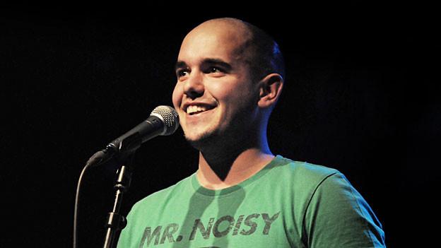 Renato Kaiser, amtierender Schweizer Slam Poetry Meister.