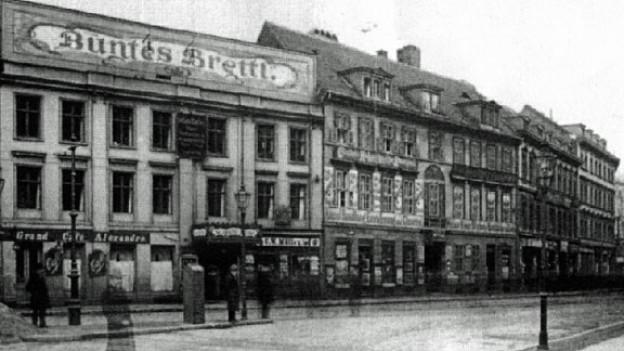 Kabarett «Überbrettl» in Berlin, um 1901