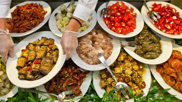 Bei mediterranen Produkten steht der Eigengeschmack im Vordergrund.