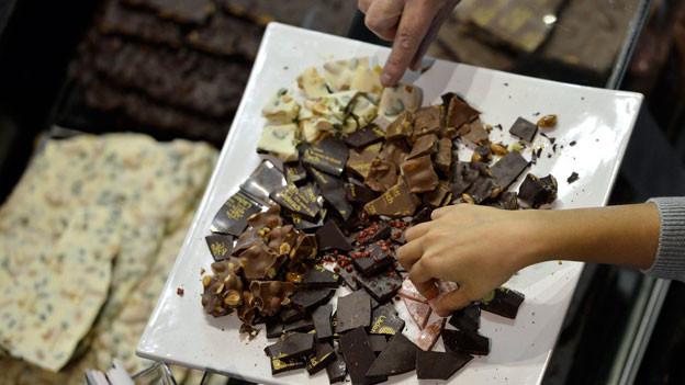 Zwischen der Schokolade aus dem Detailhandel und der Schokolade vom Chocolatier gibt es grosse geschmackliche Unterschiede.