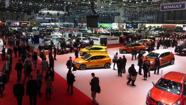 83. Automobil-Salon Genf.