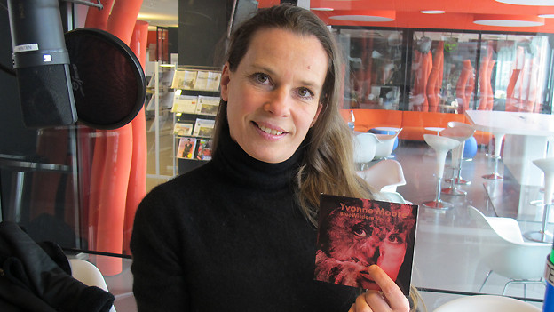 Yvonne Moore mit neuem Album «Blue Wisdom Vol. 2» im Studio von SRF 1.