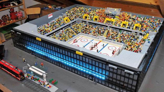 Das Lego-Stadion des SC Bern.