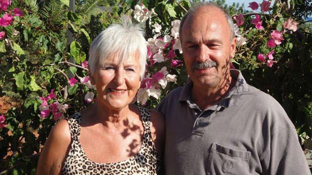Elisabeth Renz mit ihrem Lebenspartner Guido Schönenberger.