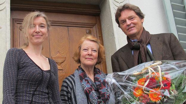 v.l.n.r. Anita Richner, Yvonne Höfliger und Björn Berg