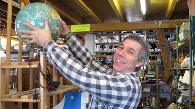 Weltoffen und mit einem grossen Herz für die Ärmsten: Rumänienhelfer Daniel Löffel.