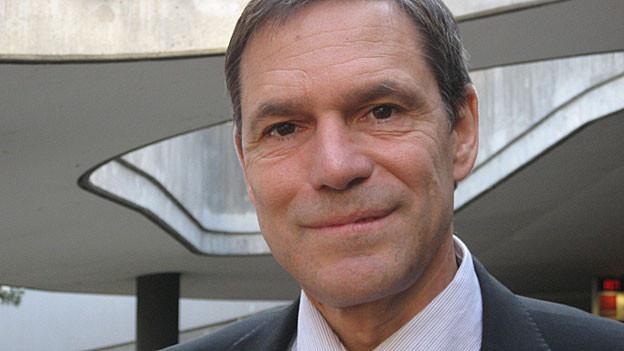David Leuthold an seinem heutigen Arbeitsort, der «Parking Zürich AG»
