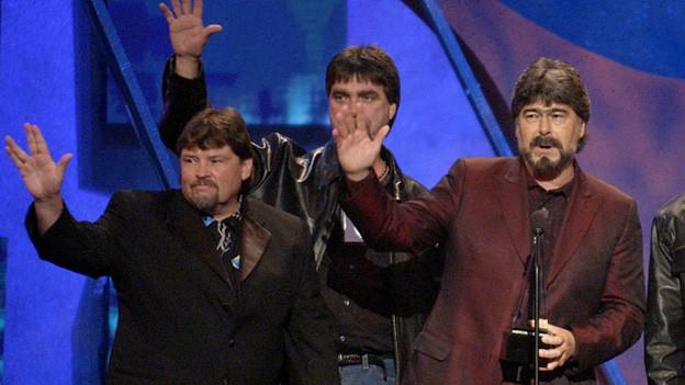 «Alabama» erhielten 2003 einen Preis an den «American Music Awards» in Los Angeles.