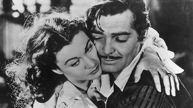 Ebenfalls ein unvergessenes Leinwand-Liebespaar: Vivian Leigh als Scarlett O'Hara und Clark Gable als Rhett Butler im Filmklassiker «Vom Winde verweht». Die Musik zum Film wurde von Max Steiner komponiert.