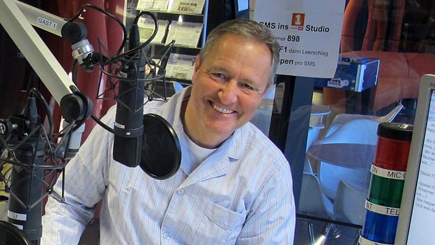 Morgengast auf Radio SRF 1: Frank Baumann.
