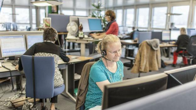 Beispiel Grossraumbüro: Wann wird aus Umgebungsgeräuschen störender Lärm?