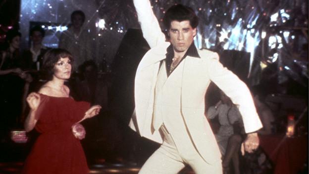 John Travolta und Karen Lynn Gorney in «Saturday Night Fever».
