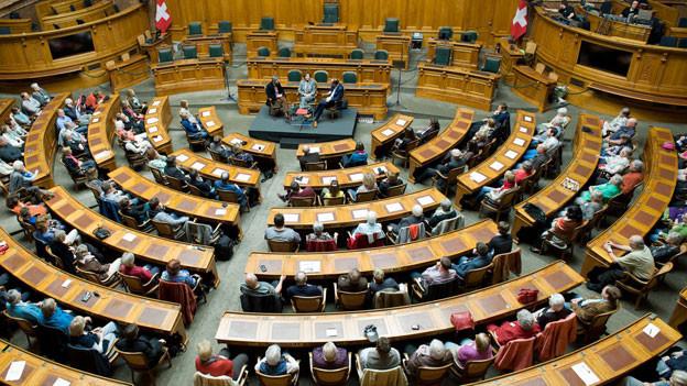 «Persönlich» am Pfingstsonntag aus dem Nationalratssaal.