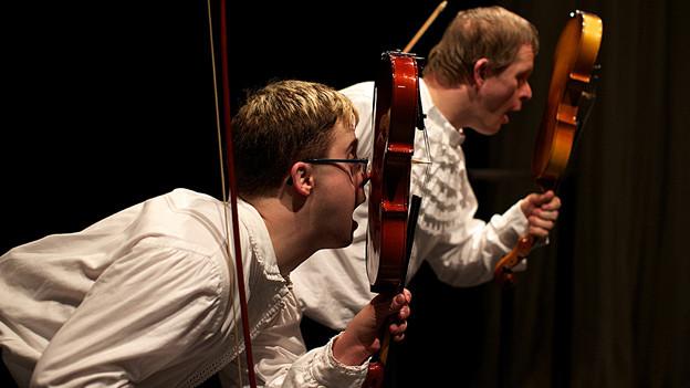 Das Theater HORA mit dem Stück Paganini & Ich (2012).