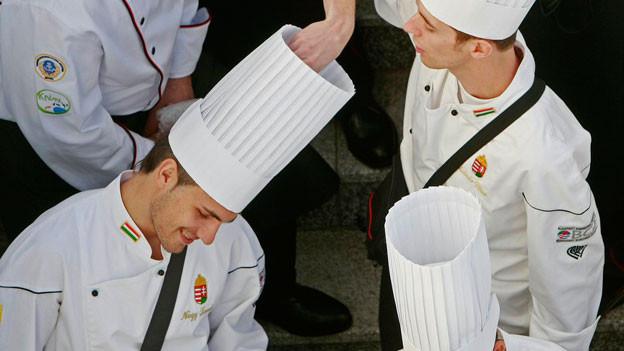 Spitzenköche an der Kocholympiade im Jahre 2008.