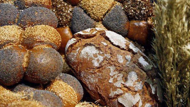 Gluten ist für die Herstellung von Brot wichtig.
