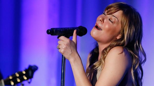 LeAnn Rimes im April 2013 bei einem Wohltätigkeitskonzert in ihrer Heimatstadt Meridian.