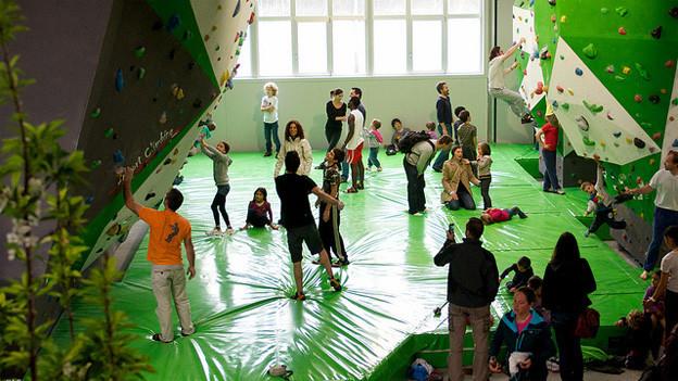 Das «Evolution Centro di Arrampicata» wurde Ende April eröffnet.