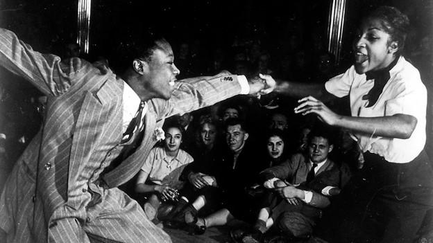 Lindy Hop gilt als Vorläufer der Tänze Jive, Boogie-Woogie und des akrobatischen Rock 'n' Roll (undatiertes Bild aus den 1930ern).