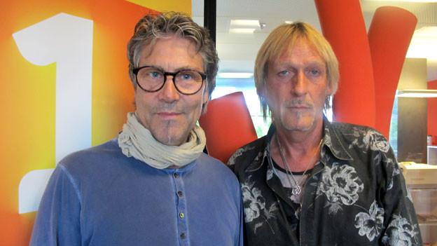 Christoph «Stöffu» Kohli und Georges «Schöre» Müller zu Gast bei Radio SRF 1.