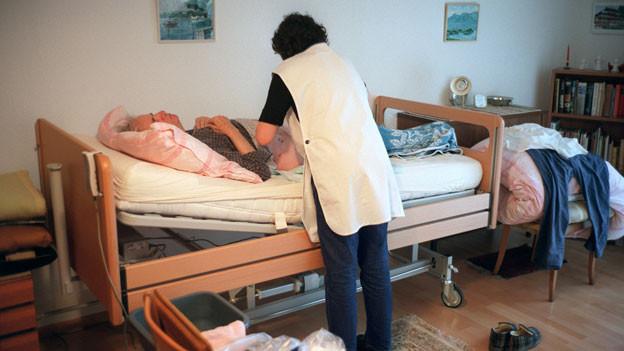 Altersbetreuung ist eine intensive Aufgabe.