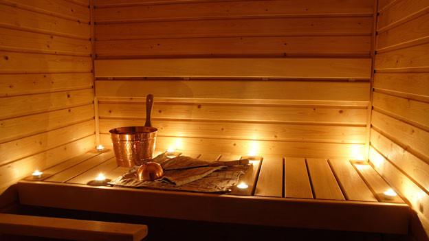 Sauna sind ein ideales Mittel gegen kühle Temperaturen.