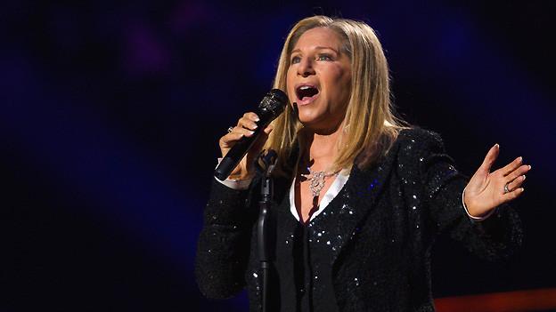 Barbara Streisand 2012 bei einem Auftritt in New York.