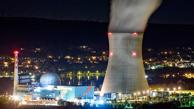 Das Atomkraftwerk Leibstadt, aufgenommen am Samstag, 28. Mai 2011.