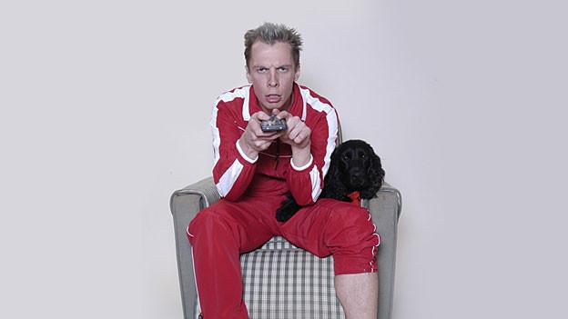 In seiner Heimat ein gefragter Kabarettist, für das Schweizer Publikum eine Entdeckung: Klaus Eckel