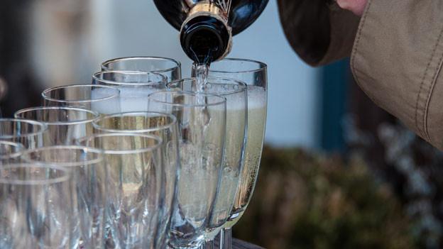 Beliebtes Getränk: Prosecco.