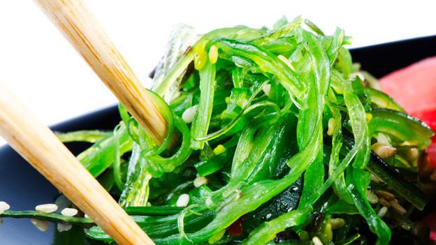 Algen: Wenig Fett, wenig Kohlenhydrate, viel Eiweiss und viele Nährstoffe.
