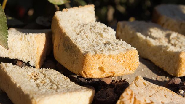 Eignet sich hervorragend zur Zweitverwertung: Altes, hartes Brot.