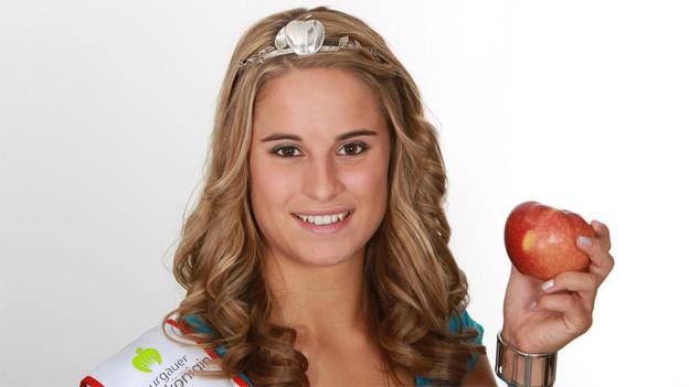 Die 21-jährige Thurgauer Apfelkönigin Nadja Anderes.